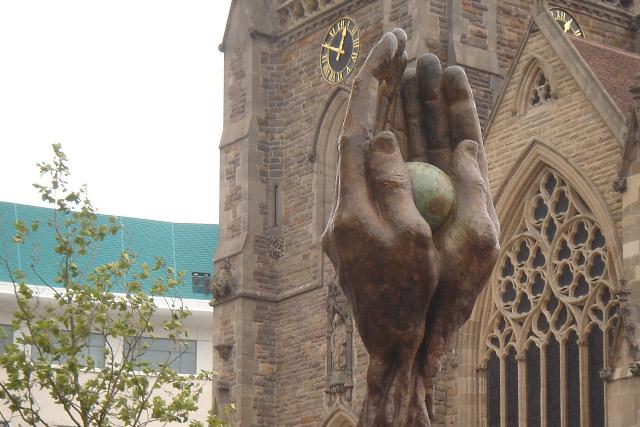 El Árbol de la Vida - Birmingham, Inglaterra - Instalaciones y Encargos - Lorenzo Quinn