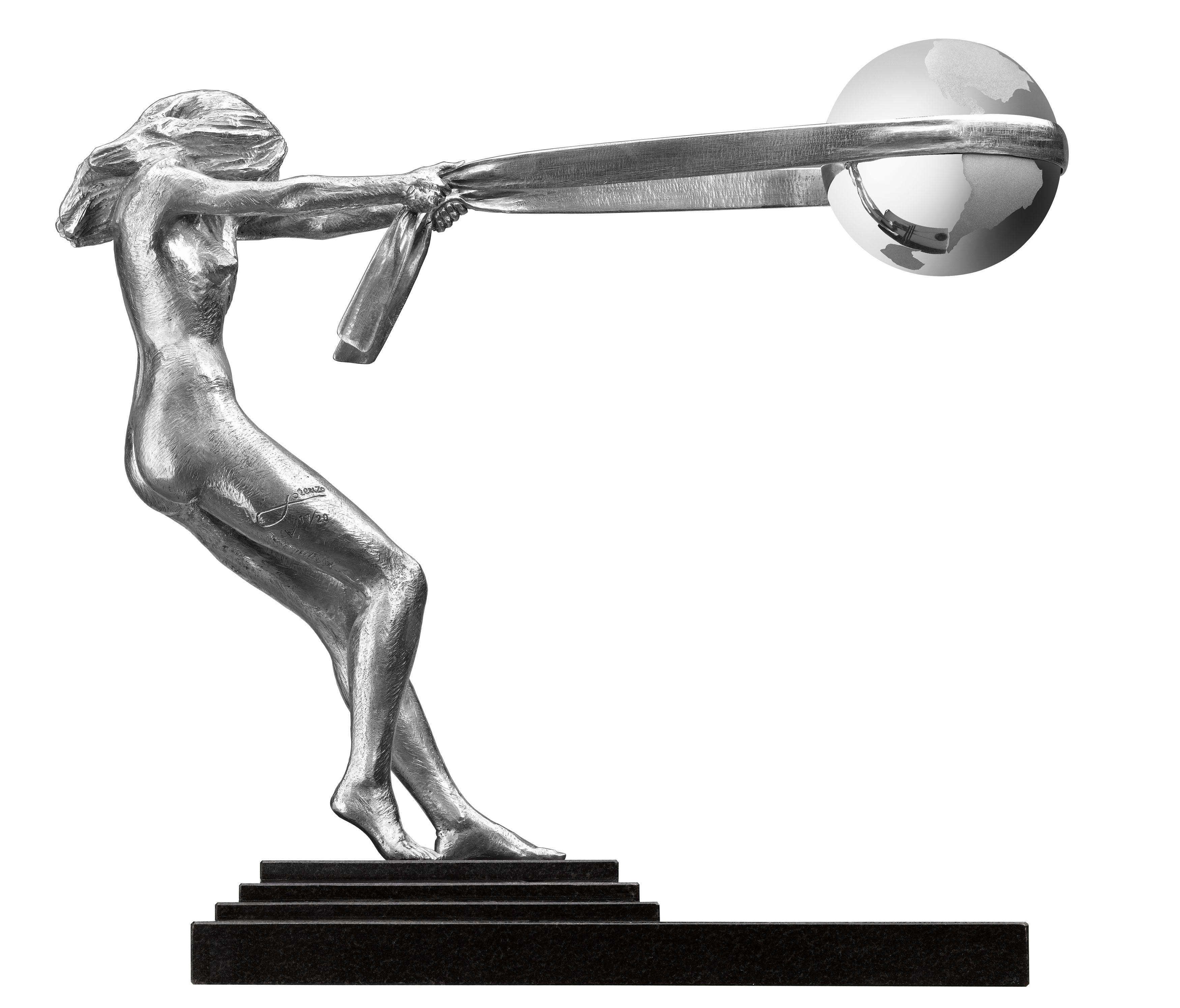 La Fuerza de la Naturaleza, Aluminio - Esculturas - Lorenzo Quinn