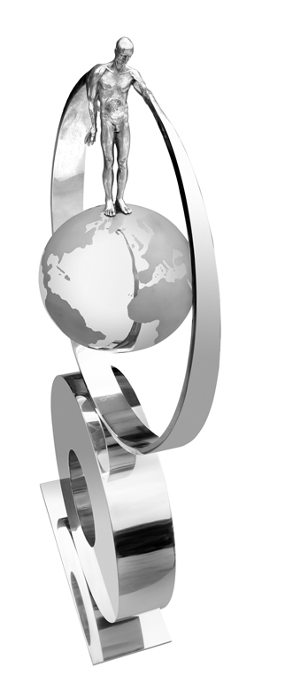 Lo que Siembras Recoges, Aluminio - Esculturas - Lorenzo Quinn
