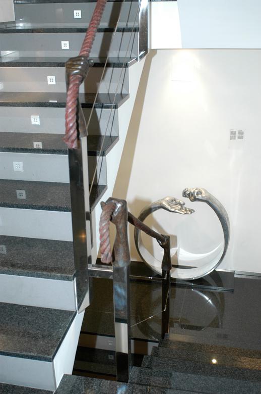 Tension Handrail - Almenar, Lleida, Spain - Installations and Commissions - Lorenzo Quinn