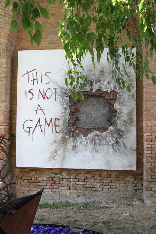 This Is Not A Game - Venice, Italy - Installations and Commissions - Lorenzo Quinn