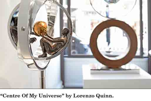 Antiques and The Arts Weekly - Lorenzo Quinn - Press - October 2016