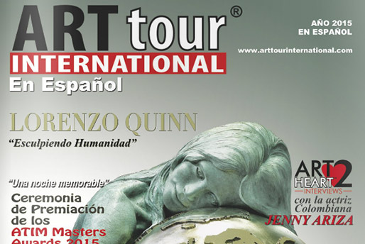 Art Tour - Esculpiendo Humanidad - Lorenzo Quinn - Press - 2015