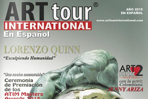 Art Tour - Esculpiendo Humanidad - Lorenzo Quinn - Prensa - 2015