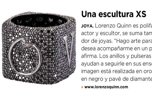 Expansión - Fuera de Serie - Lorenzo Quinn - Prensa - Noviembre 2016