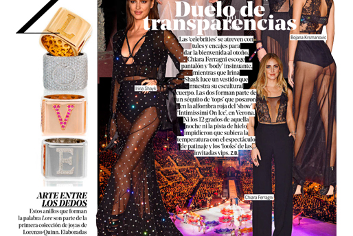 Yo Dona - Lorenzo Quinn - Press - October 2016