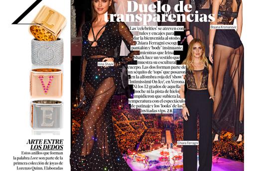 Yo Dona - Lorenzo Quinn - Prensa - Octubre 2016