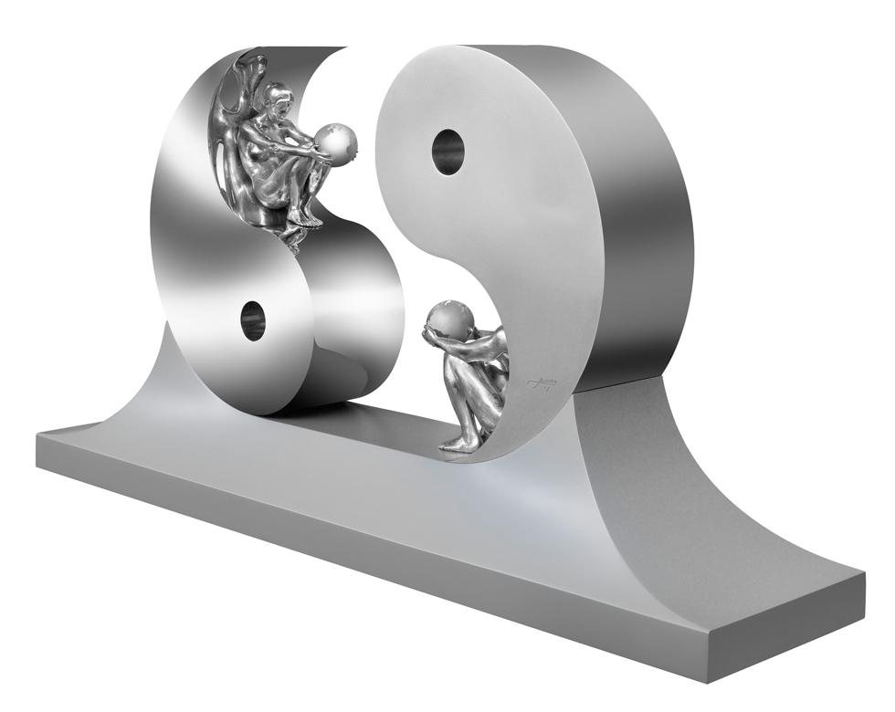 Harmony, Aluminium - Sculptures - Lorenzo Quinn