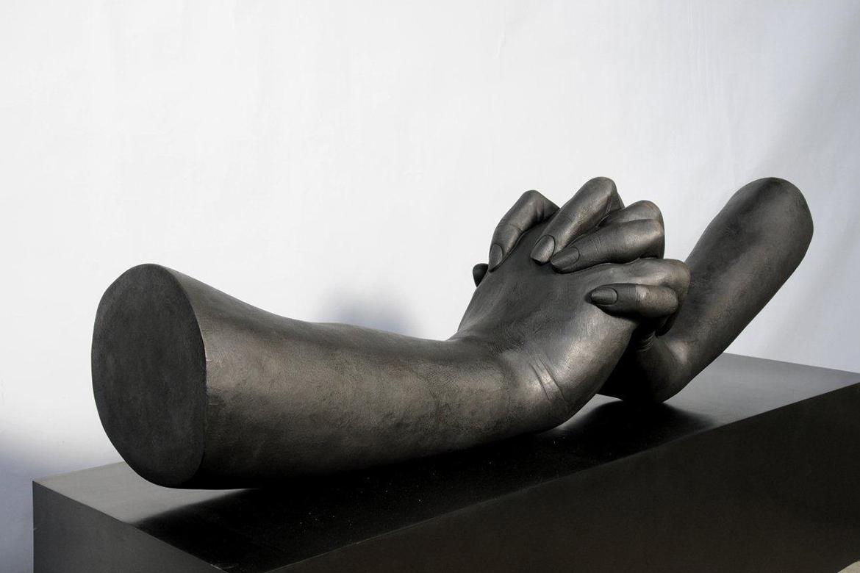 Escultura Durante el Amor - bronce