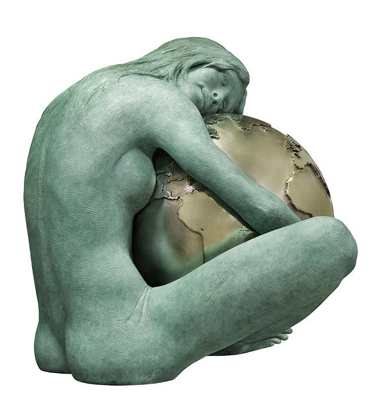 Gaia, Sculptures - Lorenzo-Quinn