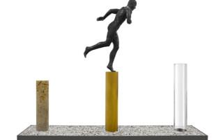 Salto de Fe - Esculturas - Lorenzo Quinn