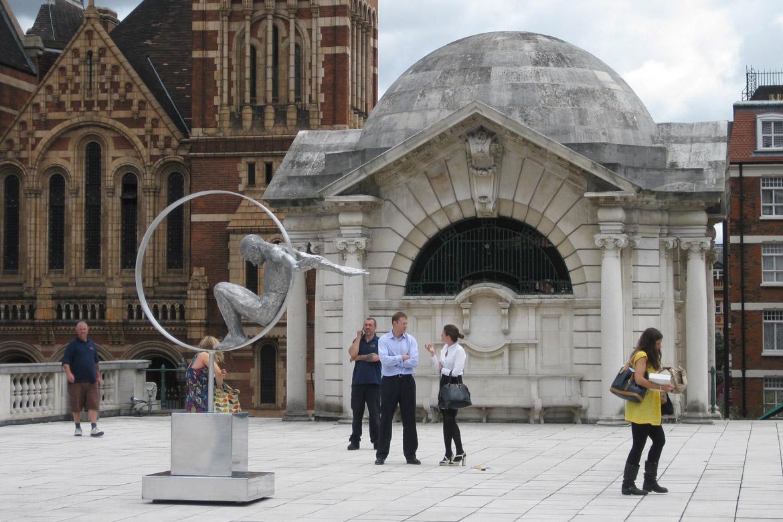 Volare, Aluminium - London, England - Installations - Lorenzo Quinn