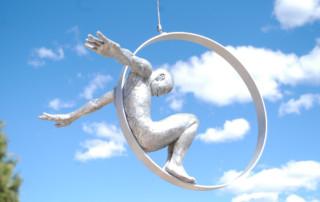 Volare, Aluminium - Almenar, Lleida, Spain - Installations and Commissions - Lorenzo Quinn
