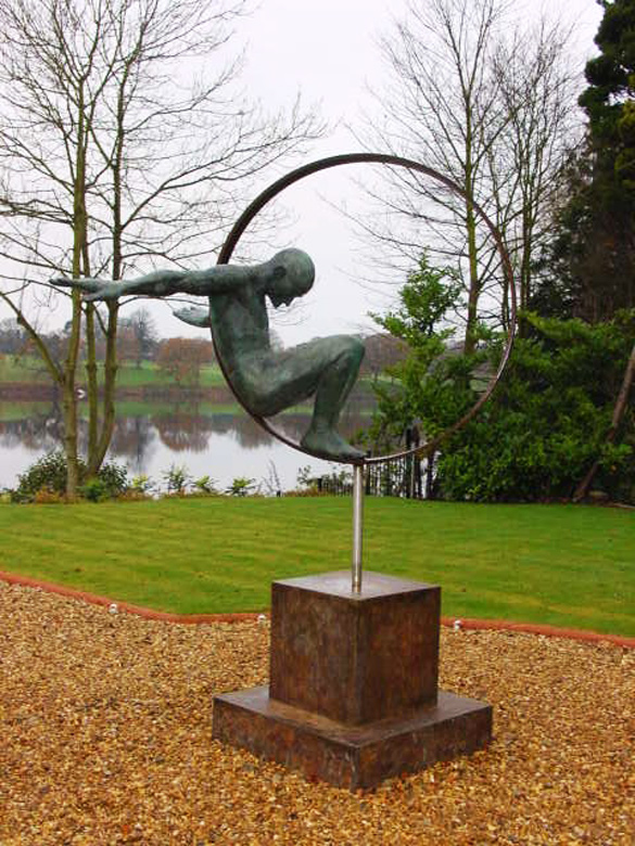 Volare, Bronze - Private Collection - Installations and Commissions - Lorenzo Quinn