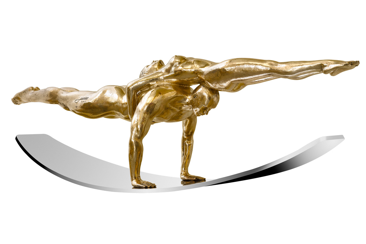 Balance of Love, Bronze - Sculptures - Lorenzo Quinn