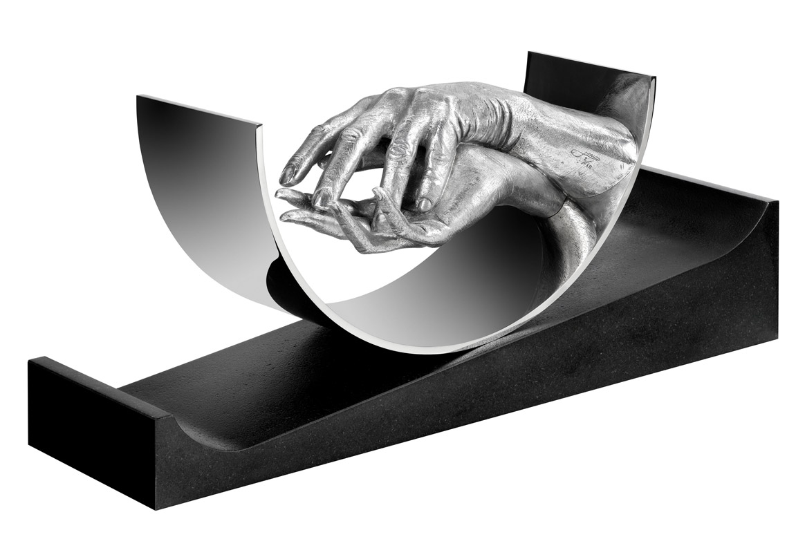 Eternal Love, Aluminium - Sculptures - Lorenzo Quinn