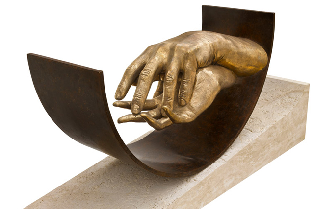 Eternal Love, Bronze - Sculptures - Lorenzo Quinn