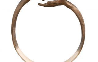 Dar y Tomar III, Bronce - Esculturas - Lorenzo Quinn