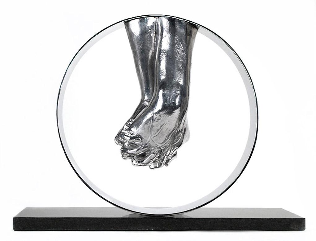 Amor, Aluminio - Esculturas - Lorenzo Quinn