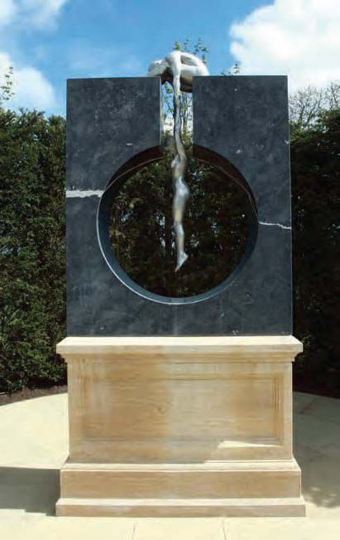 Gravity - Private collection, Ireland - Installations and Commissions - Lorenzo Quinn