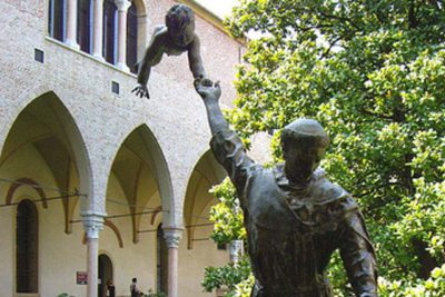 St. Anthony - Italy - Installations and Commissions - Lorenzo Quinn