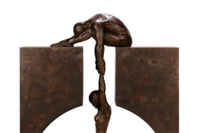 Gravity, Bronce - Esculturas - Lorenzo Quinn