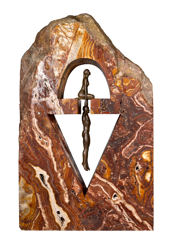 Gravedad Femenina, Onix Marruecos - Esculturas - Lorenzo Quinn