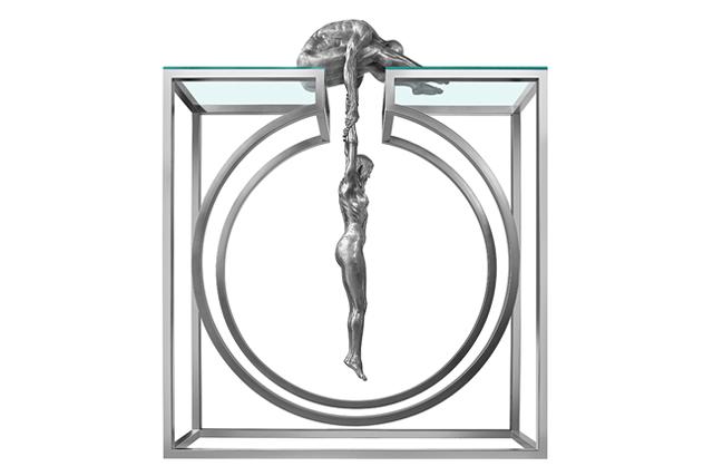 Gravity, Aluminium 4 mts - Sculptures - Lorenzo Quinn