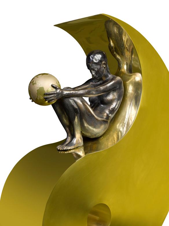 Armonía, Bronce - Esculturas - Lorenzo Quinn