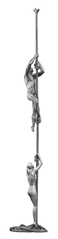Momentos, Aluminio - Esculturas - Lorenzo Quinn