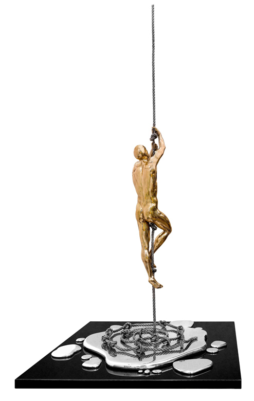 Moments, Bronze - Sculptures - Lorenzo Quinn