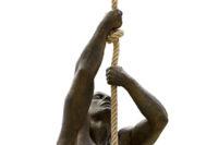 Momentos, Resina de Bronce - Esculturas - Lorenzo Quinn