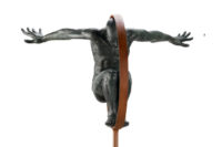 Volare Medium, Bronze - Sculptures - Lorenzo Quinn