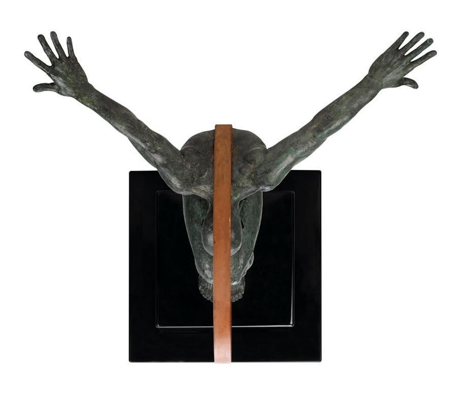 Volare, Bronce - Esculturas - Lorenzo Quinn