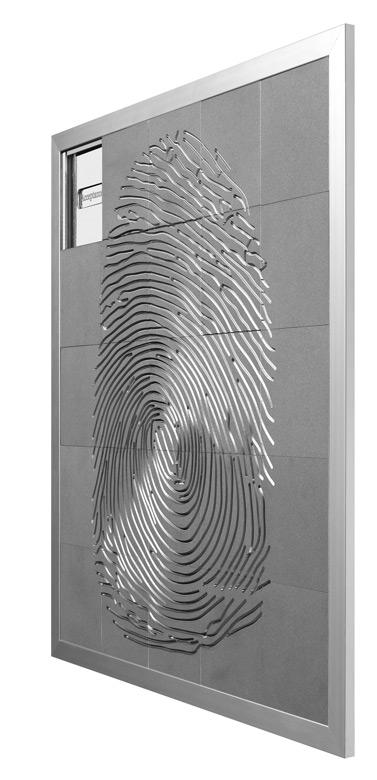 Macro Selfportrait - Puzzle, Aluminium - Sculptures - Lorenzo Quinn