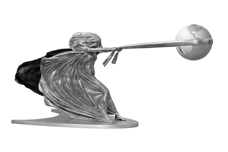 The Force of Nature II, Aluminium - Sculptures - Lorenzo Quinn