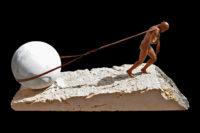 Will Power, Bronze - Sculptures - Lorenzo Quinn