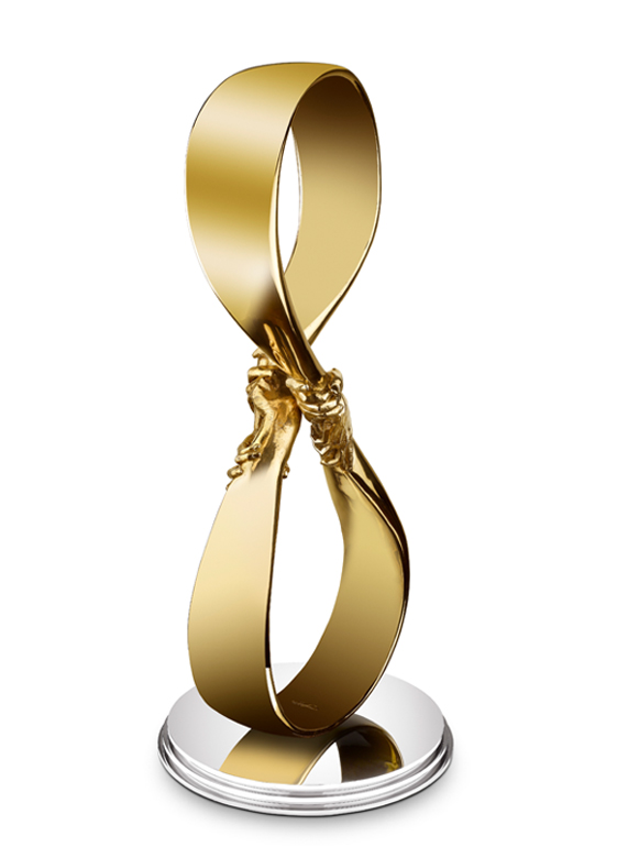 Infinite Love - Polished bronze - Sculptures - Lorenzo Quinn
