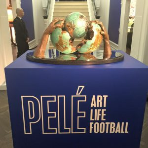 Pelé Art Life Football - Manchester, UK -2017-18 - Fairs and Exhibitions - Lorenzo Quinn