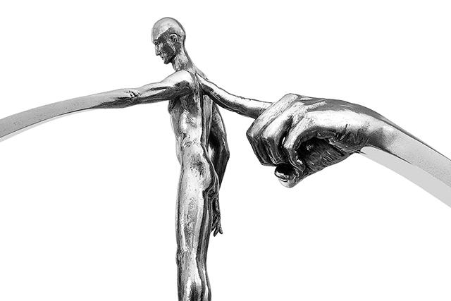 Lo que Siembras Recoges, Acero Inox. - Esculturas - Lorenzo Quinn