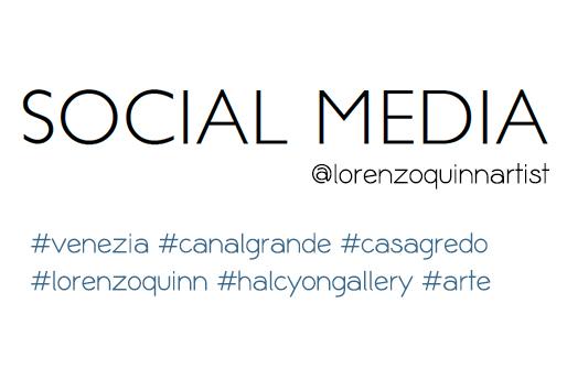 Social Media - Venice Biennale - Lorenzo Quinn - Press - May 2017