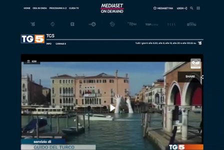 Video.mediaset.it - Bienal de Venecia 2017 - Lorenzo Quinn - Prensa - Mayo 2017