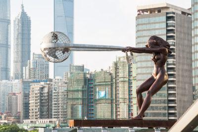 Fuerza de la Naturaleza - Shanghai, China - Agosto 2017 - Eventos y Exhibiciones - Lorenzo Quinn