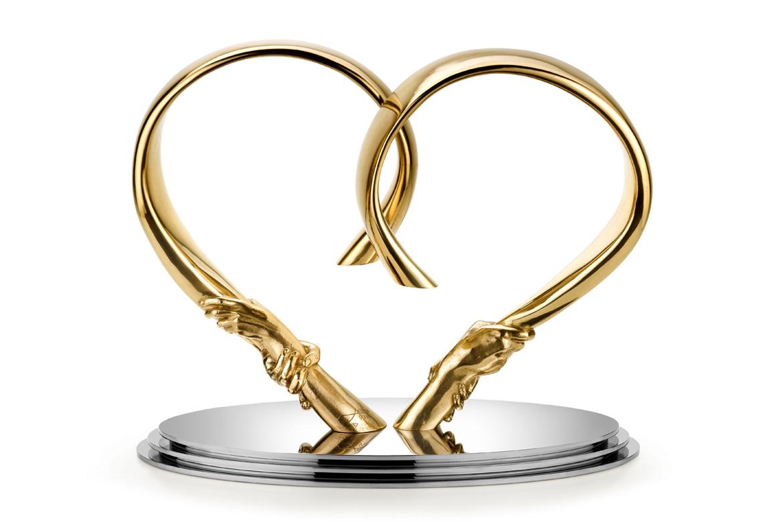 Forever Love, Bronze - Sculptures - Lorenzo Quinn