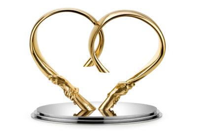 Forever Love, Bronce - Esculturas - Lorenzo Quinn