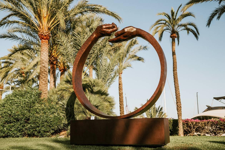 Dar y Tomar III - Mallorca, Spain - Mayo a Noviembre 2017 - Eventos y Exhibiciones - Lorenzo Quinn