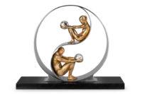 Armonía, Aro 30 cm - Esculturas - Lorenzo Quinn