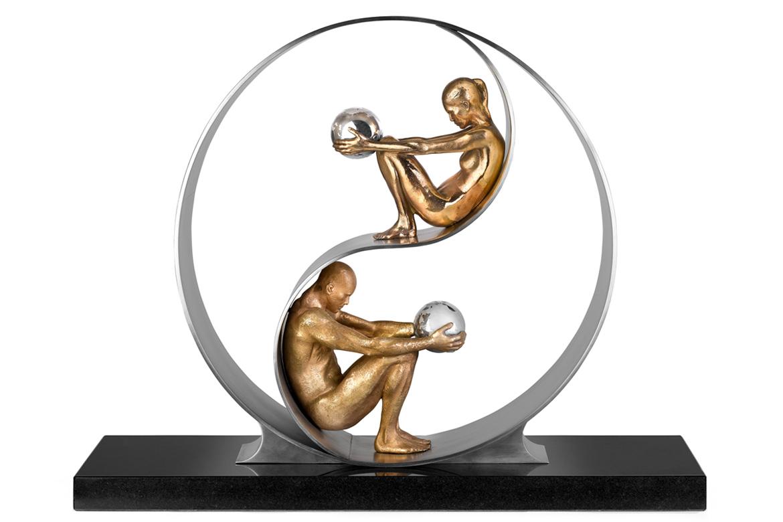 Harmony, Ring 50 cm - Sculptures - Lorenzo Quinn