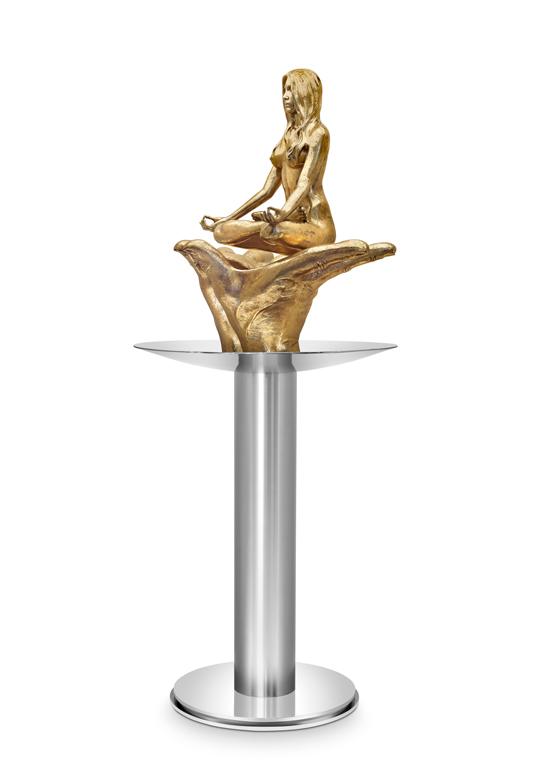 Florecer Femenina, Bronce - Esculturas - Lorenzo Quinn