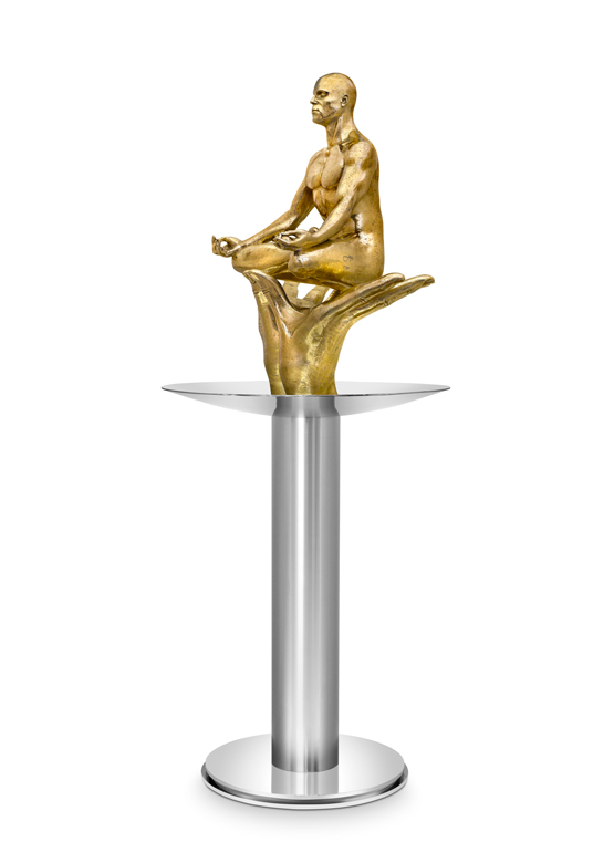 Florecer Masculina, Bronce - Esculturas - Lorenzo Quinn